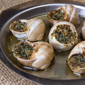 Snails with Duck Fat