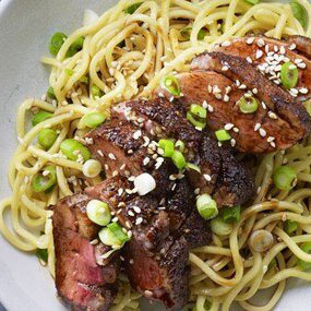 Chinese 5-Spice Duck with Noodles